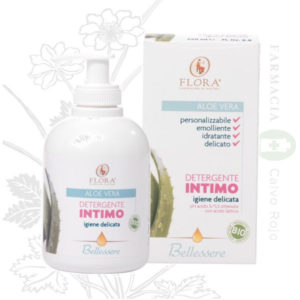 FLORA GEL ÍNTIMO NEUTRO ALOE VERA 250 ML