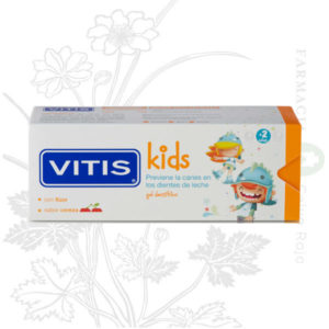 VITIS kids gel dentifrico