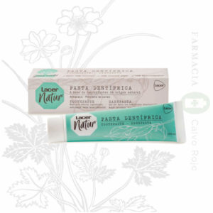 Pasta dental natural de Lacer. Presentación de 100 ml.